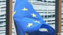 EU Flagge Symbolbild Kommission in Brüssel