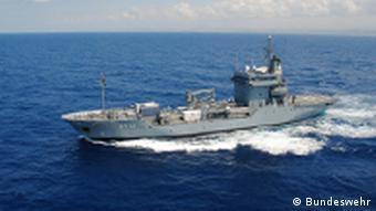 W operacji Sophia uczestniczy także niemiecki okręt Mosel