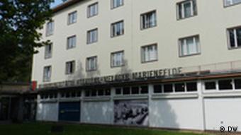 В одном из корпусов лагеря Мариефельде теперь музей