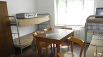 Комната в лагере Мариенфельде