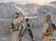 دو سرباز ارتش تاجیکستان