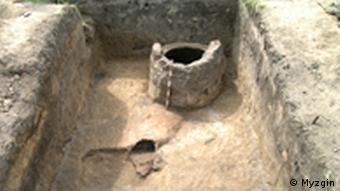 На місці розкопок