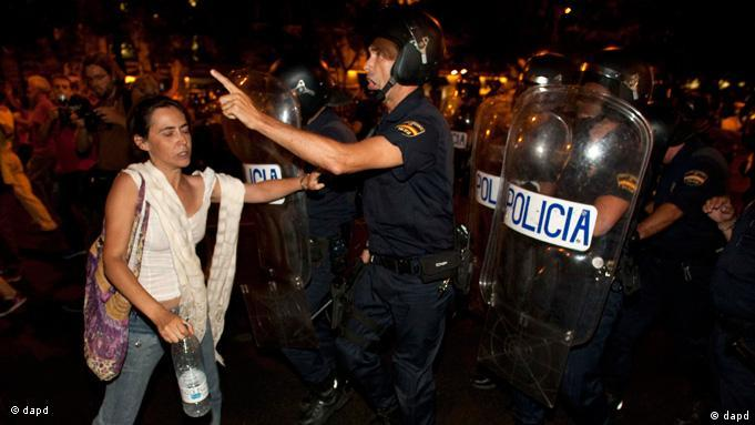 Proteste in Spanien Flash-Galerie