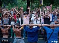 Европейская молодежь протестует, требуя вернуть ей будущее  0,,15300170_1,00