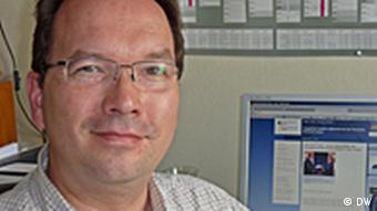 Henning Riecke von der DGAP (Foto: DW)