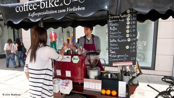 Кофейня на колесах в Оснабрюке