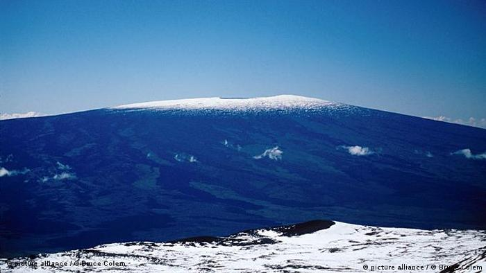USA Hawaii Vulkan Maunoa Loa (picture alliance / © Bruce Colem)