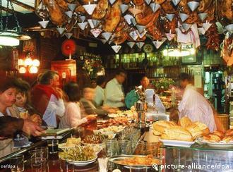 Tapas bar u Španjolskoj