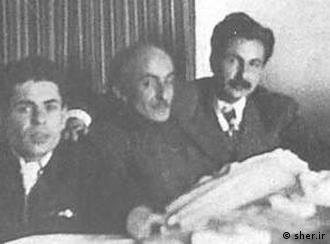 مرتضی کیوان، احمد شاملو، نیمایوشیج، سیاوش کسرایی، هوشنگ ابتهاج