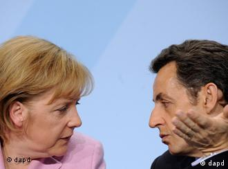 Sarkozy and Merkel