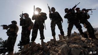 Afghanistan Kabul Armee