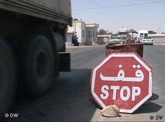 Grenzgebiet zischen Tunesien und Libyen, 08.08.2011; Copyright: DW/Khedir Mabrouka