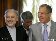 علیاکبر صالحی و سرگئی لاوروف وزرای خارجه جمهوری اسلامی و روسیه