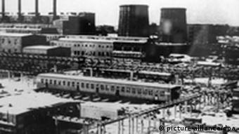 IG Farben plant at Auschwitz-Monowitz