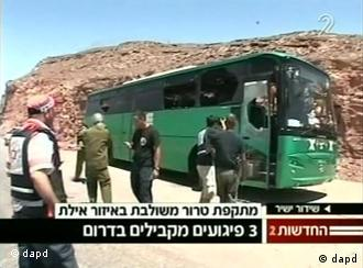 Attackierter Bus (Foto: dapd)