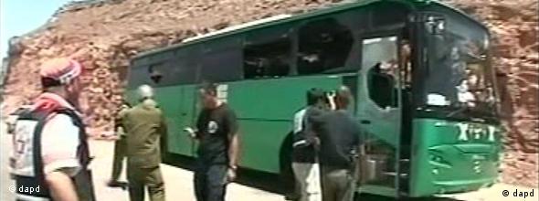 حمله شبهنظامیان فلسطینی به اتوبوس حامل شهروندان اسرائیلی ۸ کشته برجای گذارد