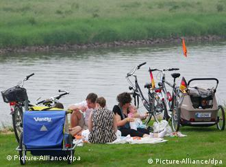 Пикник на берегу реки
