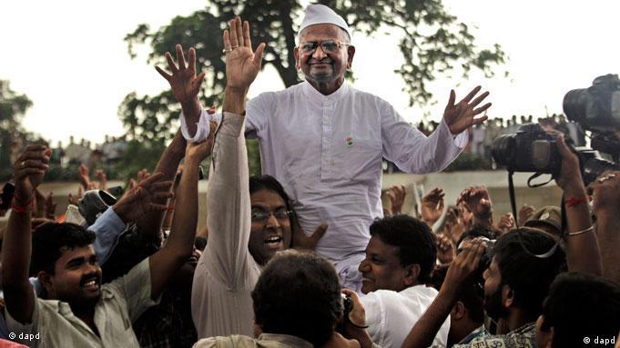 Flash-Galerie Indien Anti-Korruption Anna Hazare