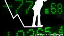 Symbolbild Krise Aktienmarkt