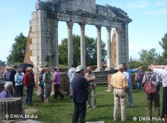 Turistët në Shqipëri të interesuar për vendet historiko-kulturore, Apollonia