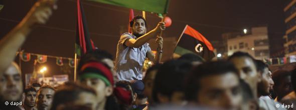 NO FLASH Bürgerkrieg in Lybien
