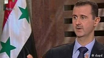 Syrien Assad Interview TV