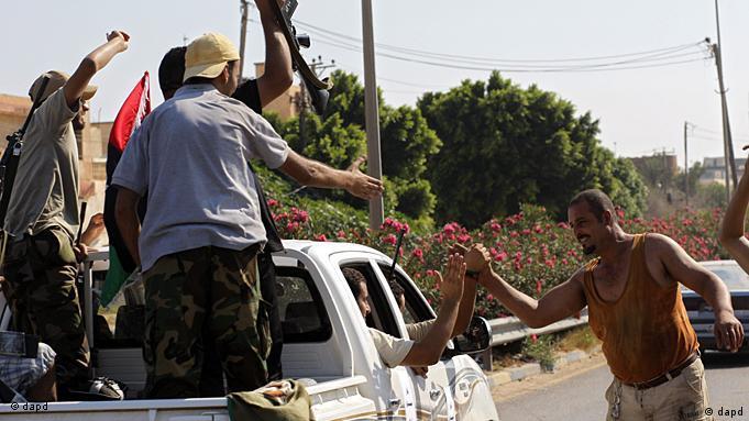 Rebeldes libios avanzan sobre Trípoli. (22/8/2011).