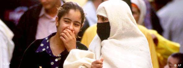 NO FLASH Frauen in Marokko