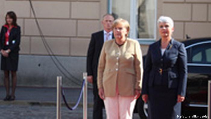 Merkel Besuch in Kroatien