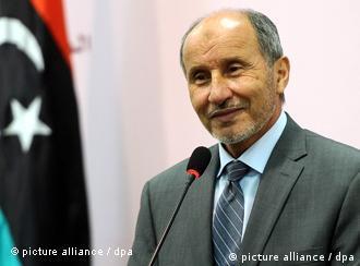 Mustafa Jalil, head of the Libyan rebels' interim administration