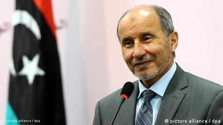 رئيس المجلس الوطني الانتقالي المنحل في ليبيا مصطفى عبدالجليل