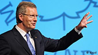 Deutschland Bundespräsident Wulff besucht Nobelpreisträgertreffen in Lindau Euro