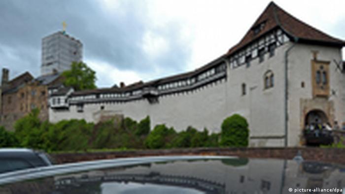 Blick auf die Wartburg bei Eisenach (foto: dpa)