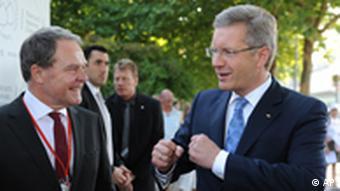 Bundespräsident Christian Wulff Rede vor Wirtschafsnobelpreisträgern