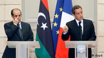 Jibril and Sarkozy