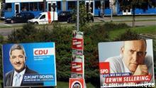 Wahlkampf in Mecklenburg Vorpommern