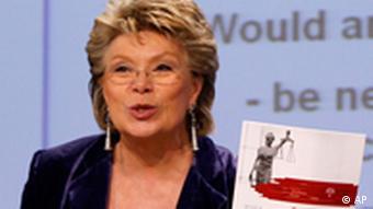 Viviane Reding, the EU's justice commissioner
