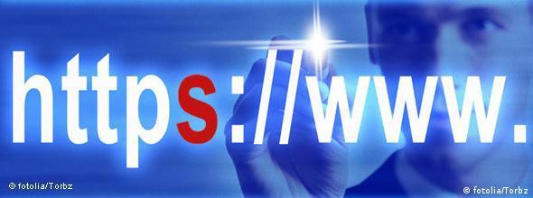 Symbolbild Internet Sicherheit HTTPS NO FLASH