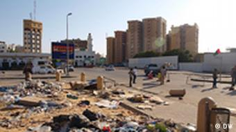 rubbish in tripoli