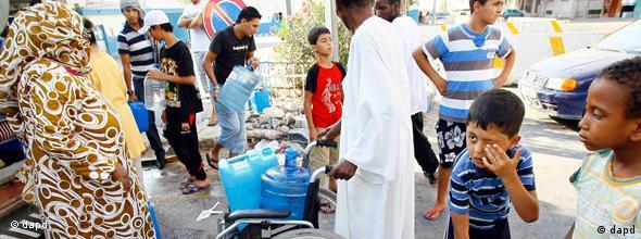 NO FLASH Libyen Wassermangel