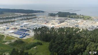 Erdgasübernahmestation Lubmin (DW)