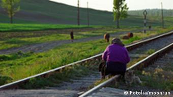 Symbolbild Rumänien Frau Alter Rente
