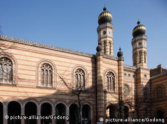 The Great Synagogue in Budapest is the largest active synagogue in Europe