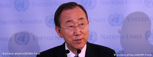 NO FLASH UNO General Sekretär Ban Ki-moon