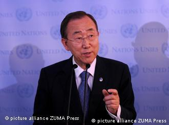 UN-Generalsekretär Ban Ki Moon (Foto: picture-alliance/ZUMA Press)