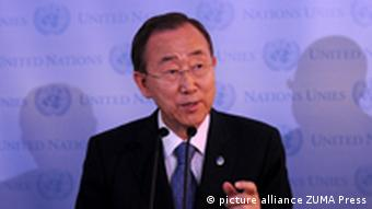 UNO General Sekretär Ban Ki-moon