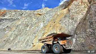 Kupfermine (Quelle: AP)