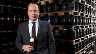 Gaffel Kölsch CEO Heinrich Philipp Becker