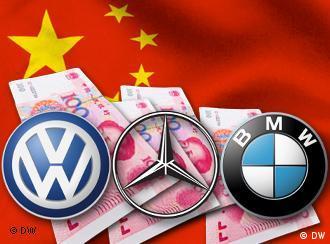 Symbolbild Autohersteller profitieren vom chinesischen Markt