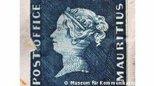 Briefmarke blaue Mauritius